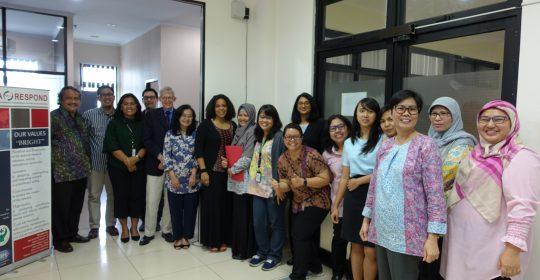 The INA-RESPOND Secretariat Team