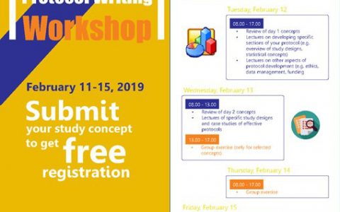 CLINICAL RESEARCH PROTOCOL WRITING WORKSHOP (CRIPIK 2019)